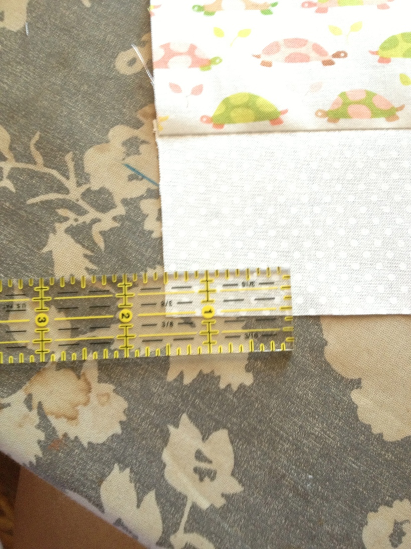 Measure twice sew once!