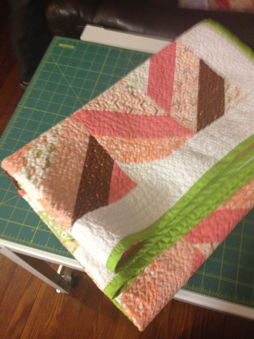 Quilting Finished!