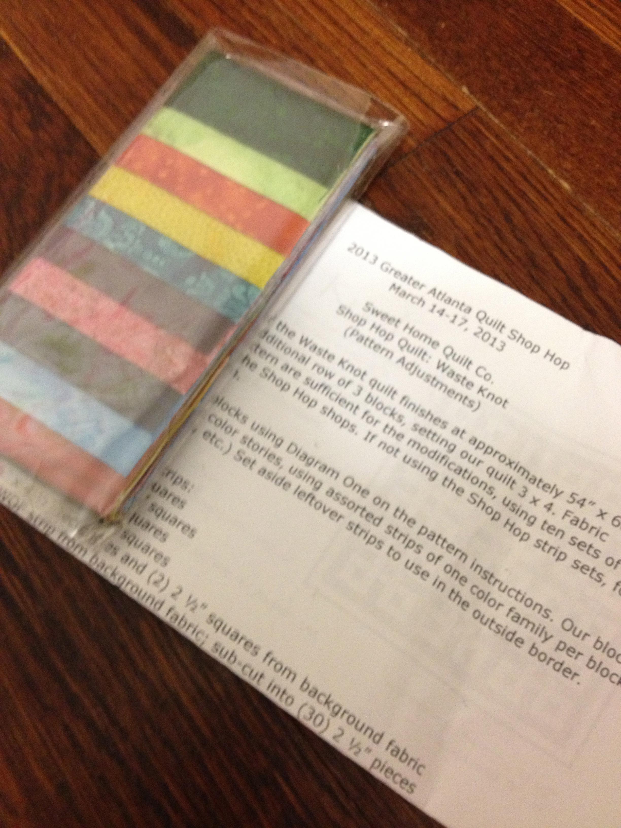 March | 2013 | Karefully Made : atlanta quilt shop hop - Adamdwight.com